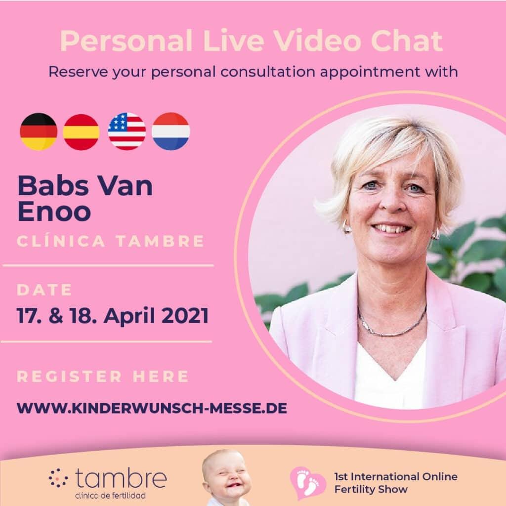 Personal Consultation with Babs van Enoo, Clinica Tambre