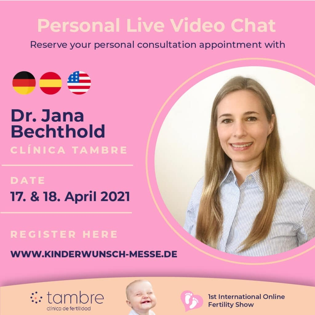 Personal Consultation with Dr. Jana Bechthold, Clinica Tambre