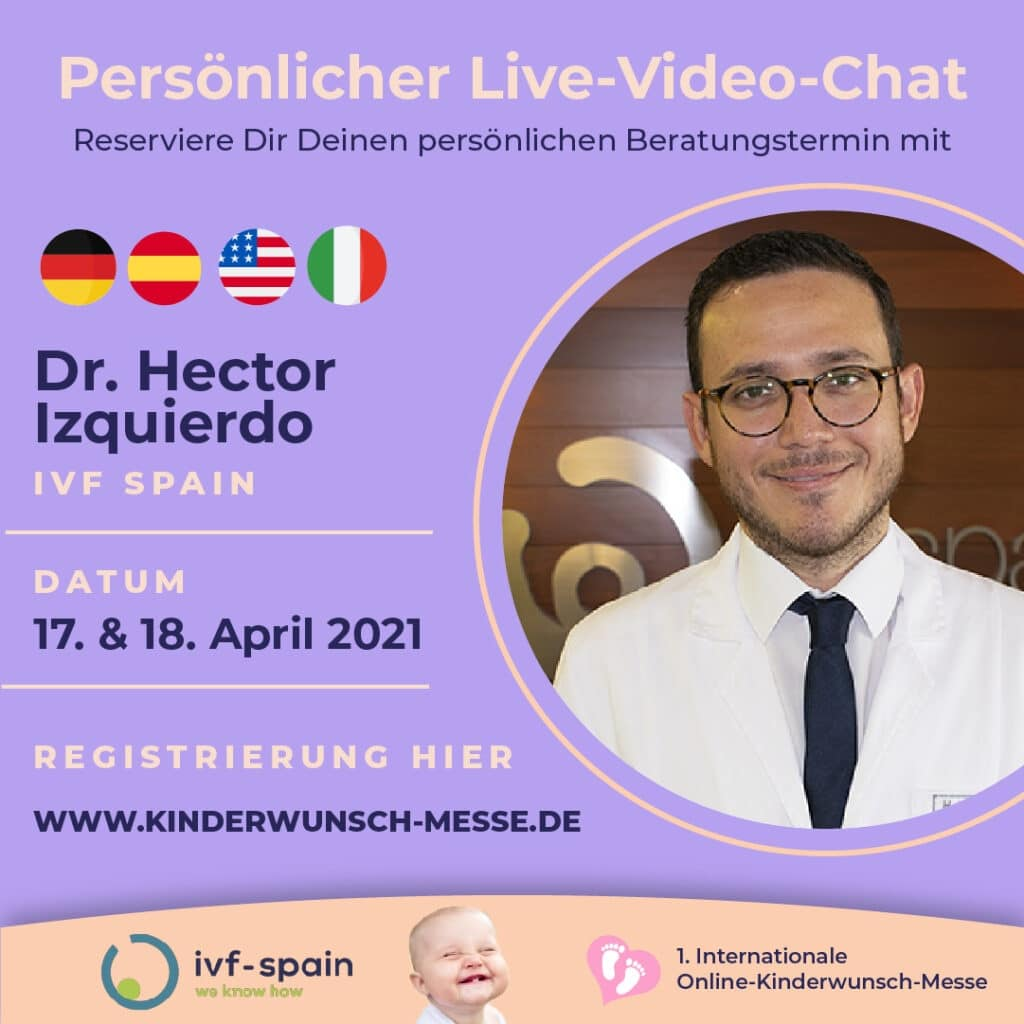 Persönliches Beratungsgespräch mit Dr. Hector Izquierdo, IVF Spain