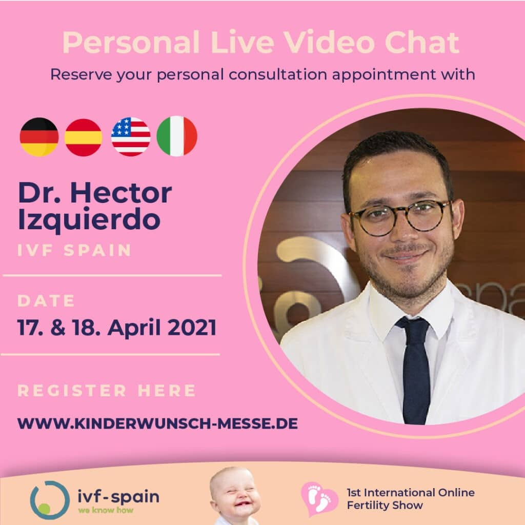 Personal Consultation with Dr. Hector Izquierdo, IVF Spain