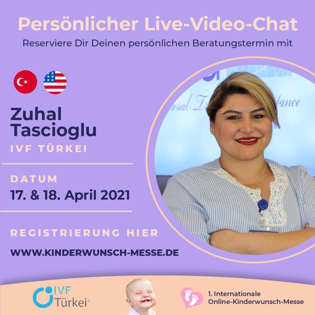 Persönliches Beratungsgespräch mit Zuhal Tascioglu, IVF Türkei