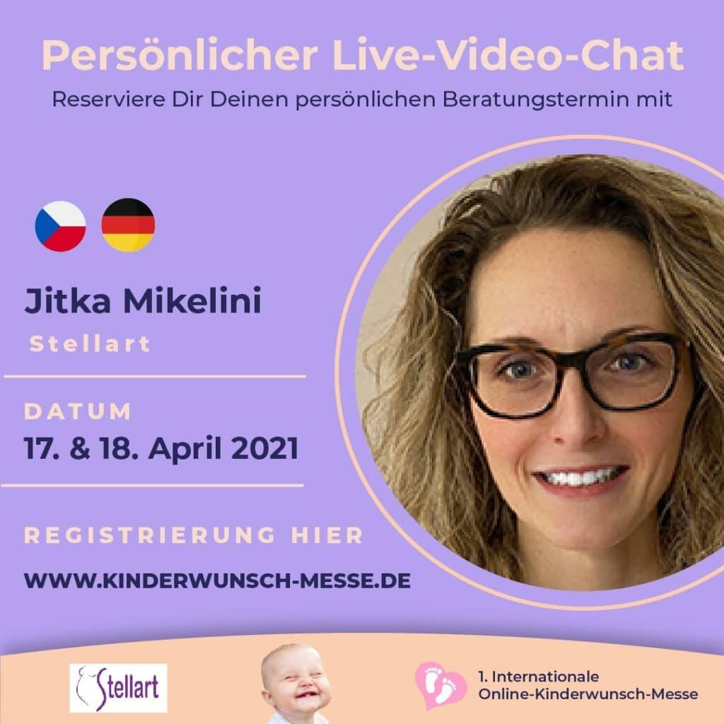 Persönliches Beratungsgespräch mit Jitka Mikelini, Stelalrt