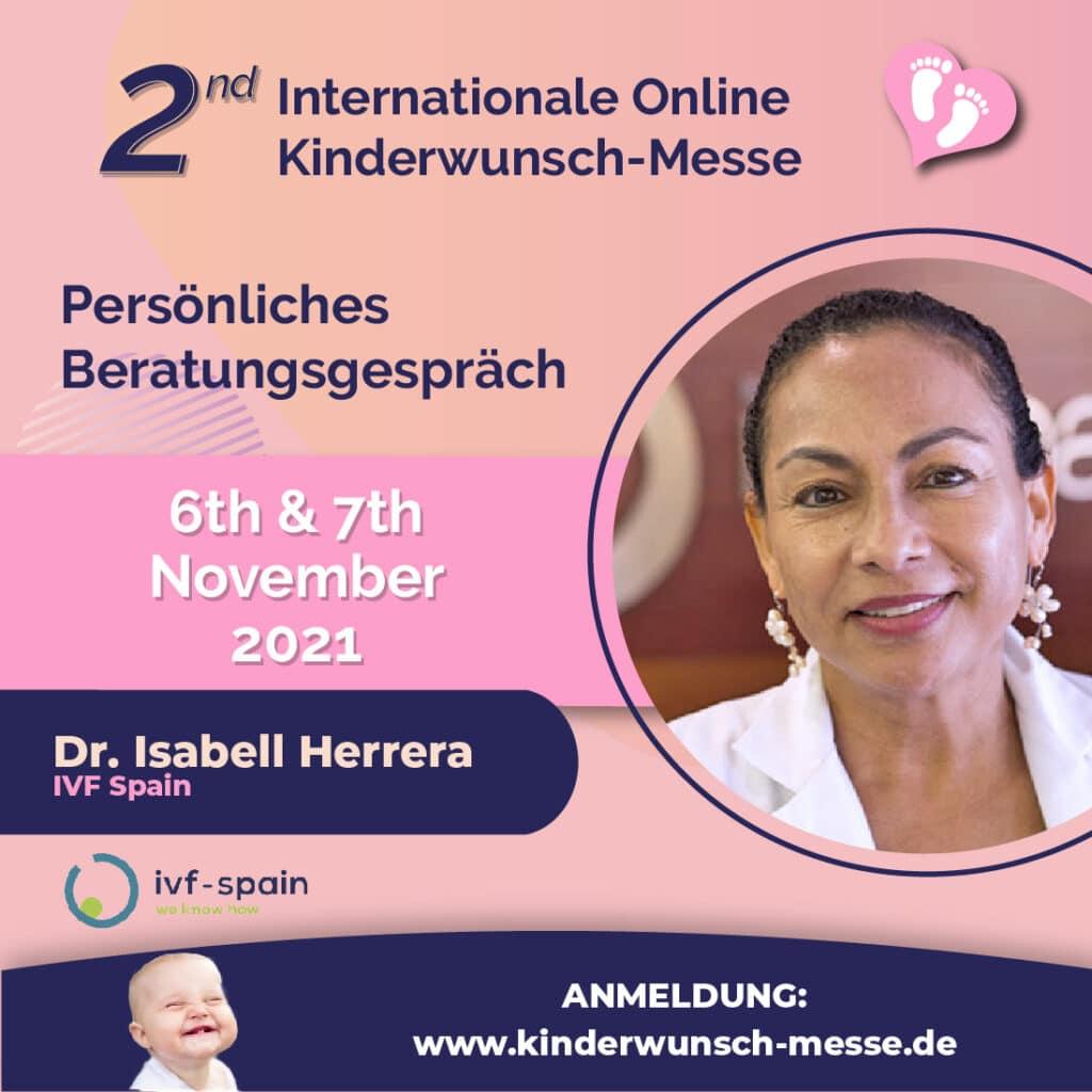 Beratungsgespräch - Dr. Isabel Herrera - IVF-Spain