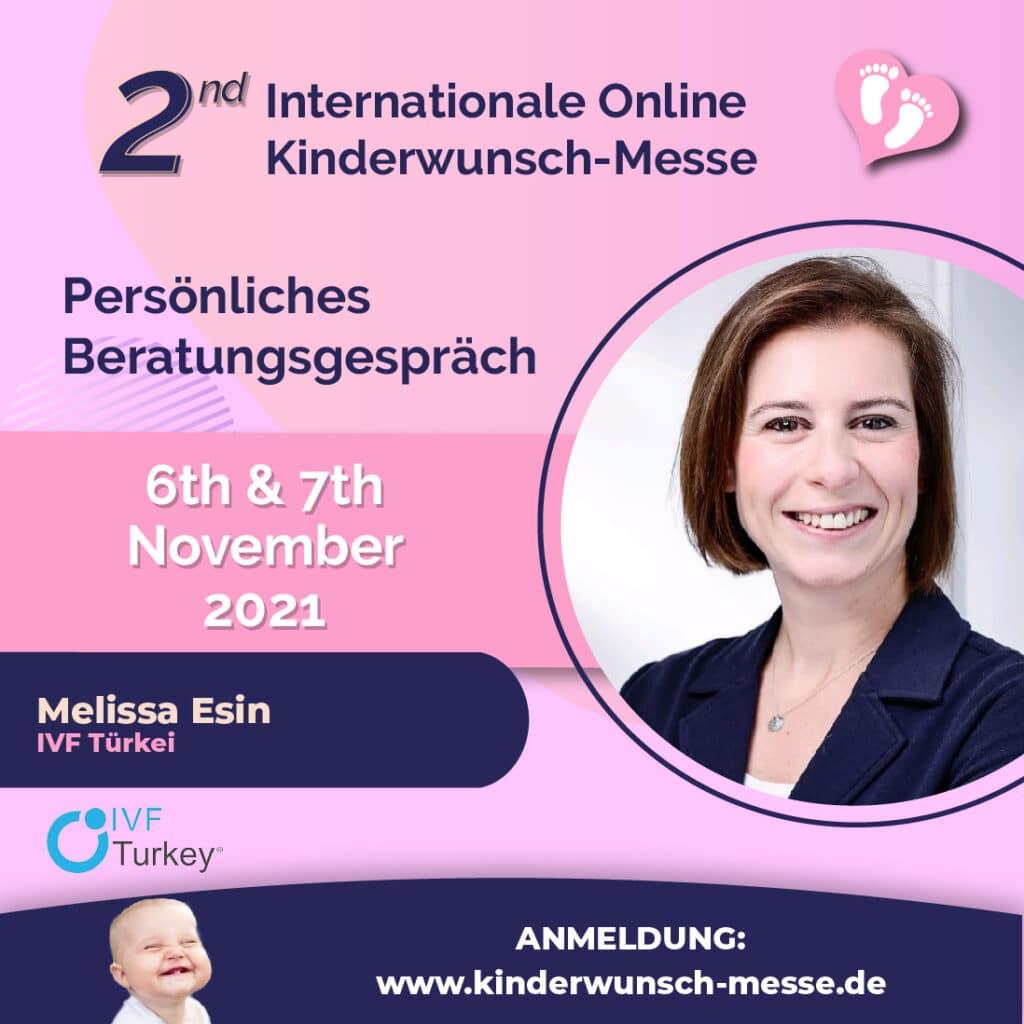 Beratungsgespräche Melissa Esin - IVF Türkei