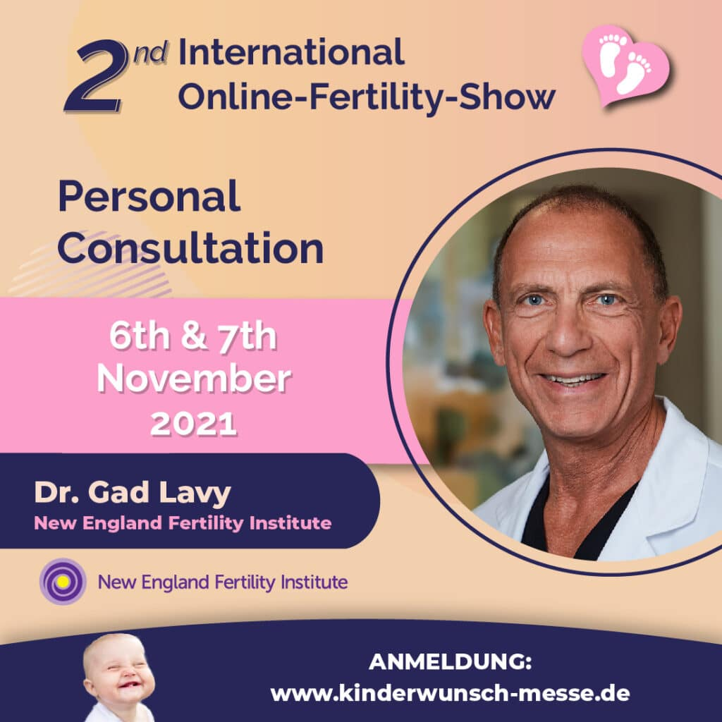 Personal Consultation - Dr. Gad Lavy - New England Fertility Institute